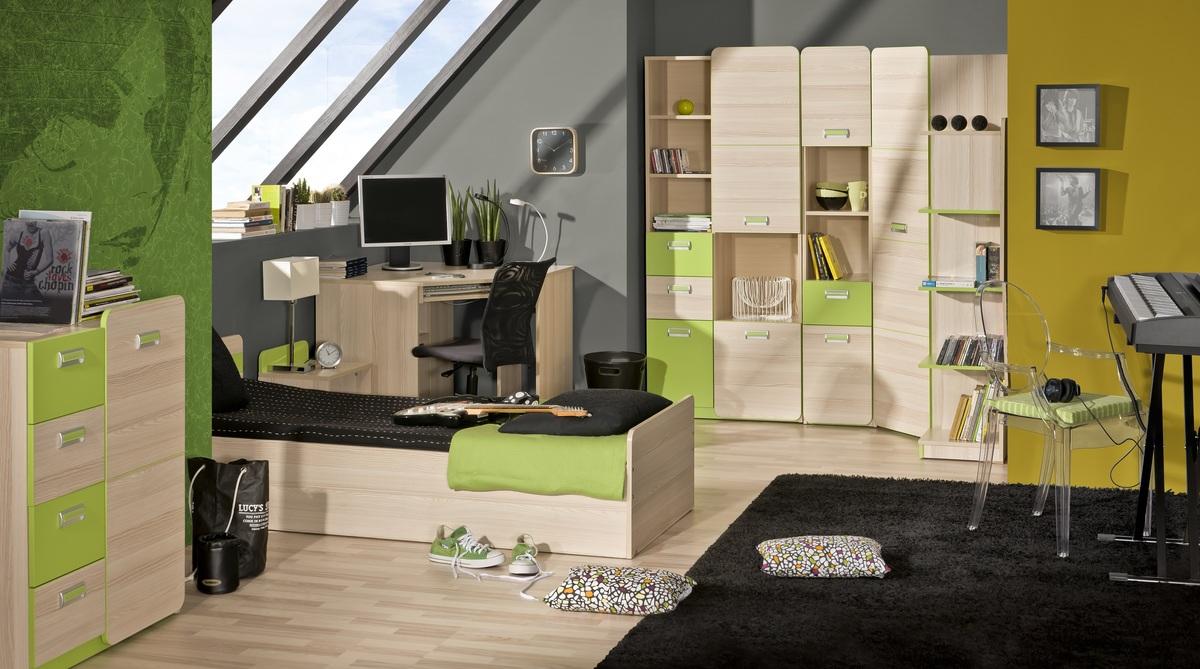 Detská izba LORI 8 izbový set set L6,L13,L12,L11,L7,L3,L14,L15