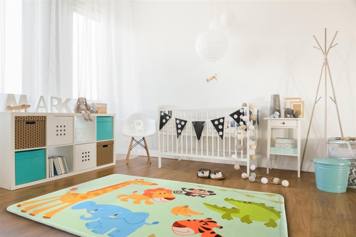 Detský koberec SOFT SAVANNA 140 x 200 cm