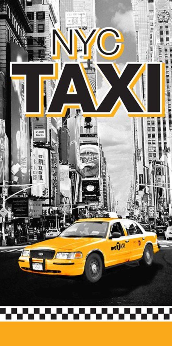 Detská osuška - Taxi NYC