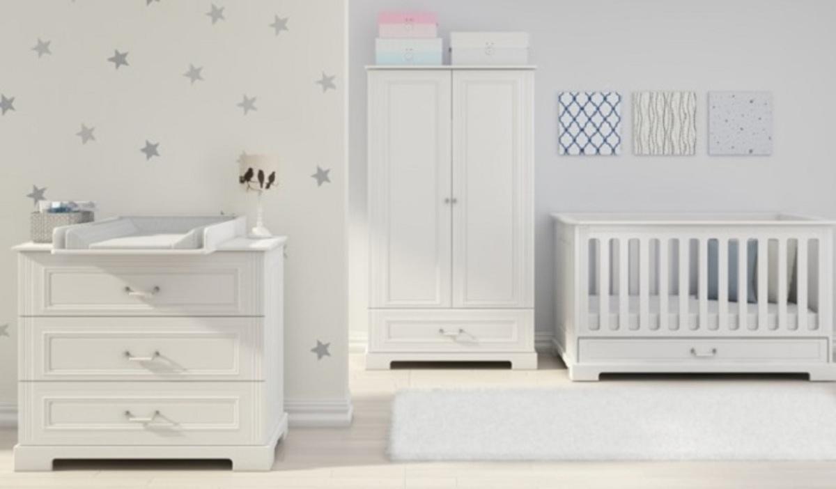 Detská izba Ines White polička