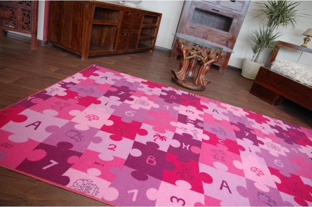 Ourbaby Puzzle 6269-0 200 x 300 cm ružová