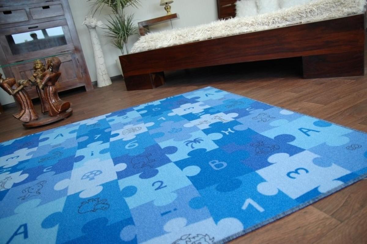 Ourbaby Puzzle 6270-0 200 x 300 cm modrá