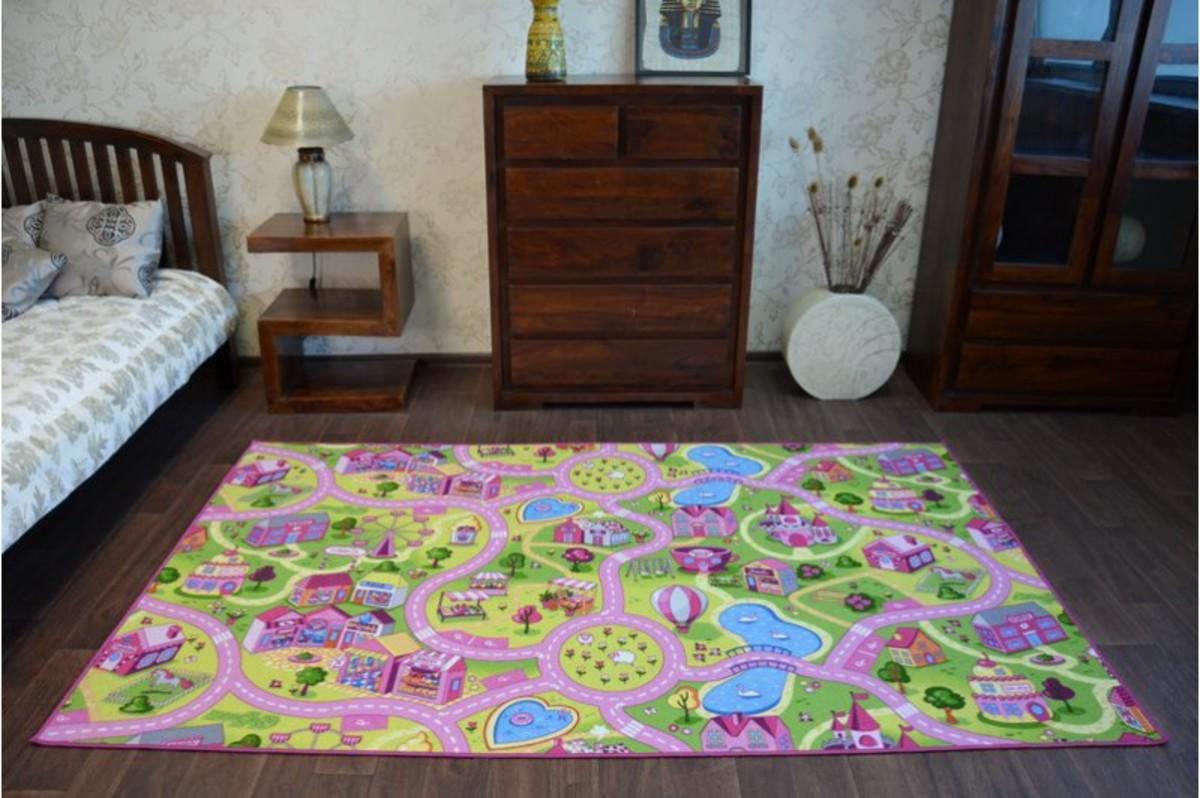 Ourbaby Sweet Town 6566-0 200 x 300 cm ružová