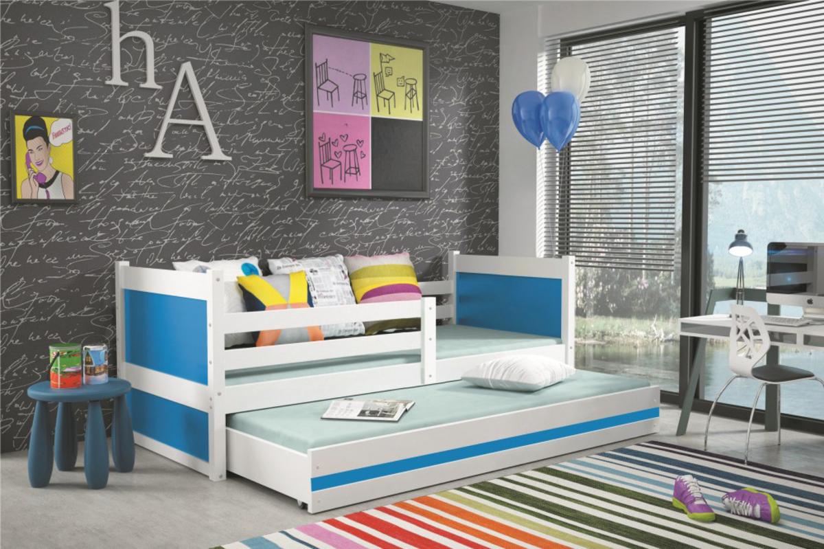 Detská posteľ Ourbaby Rocky 2 modrá cm