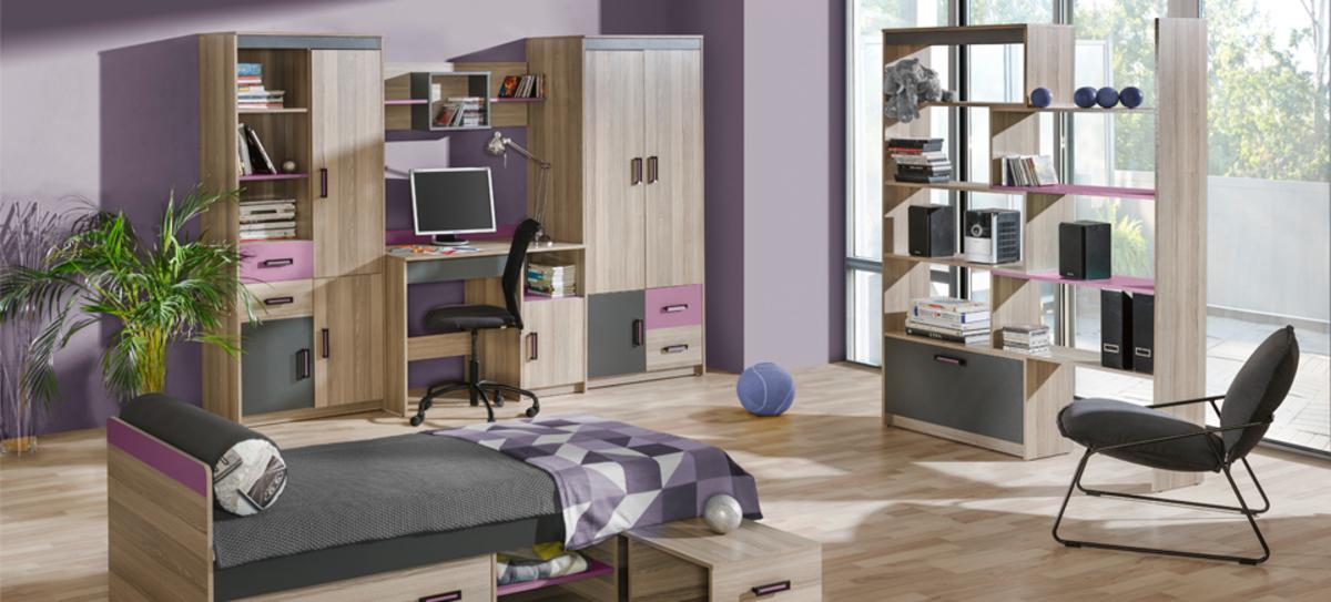 Detská izba UNI A kombinovaná skriňa