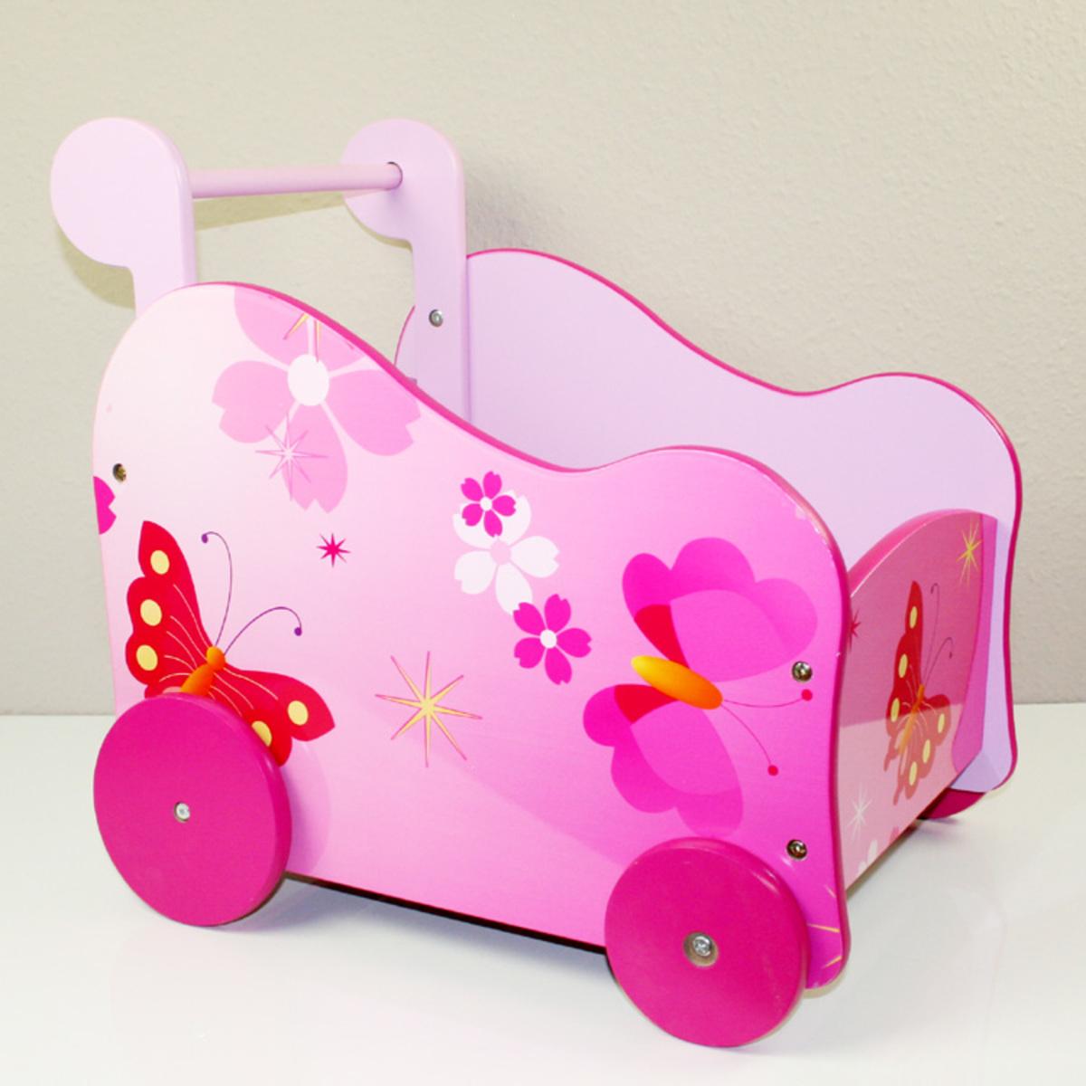 Kočík pre bábiky Motýliky