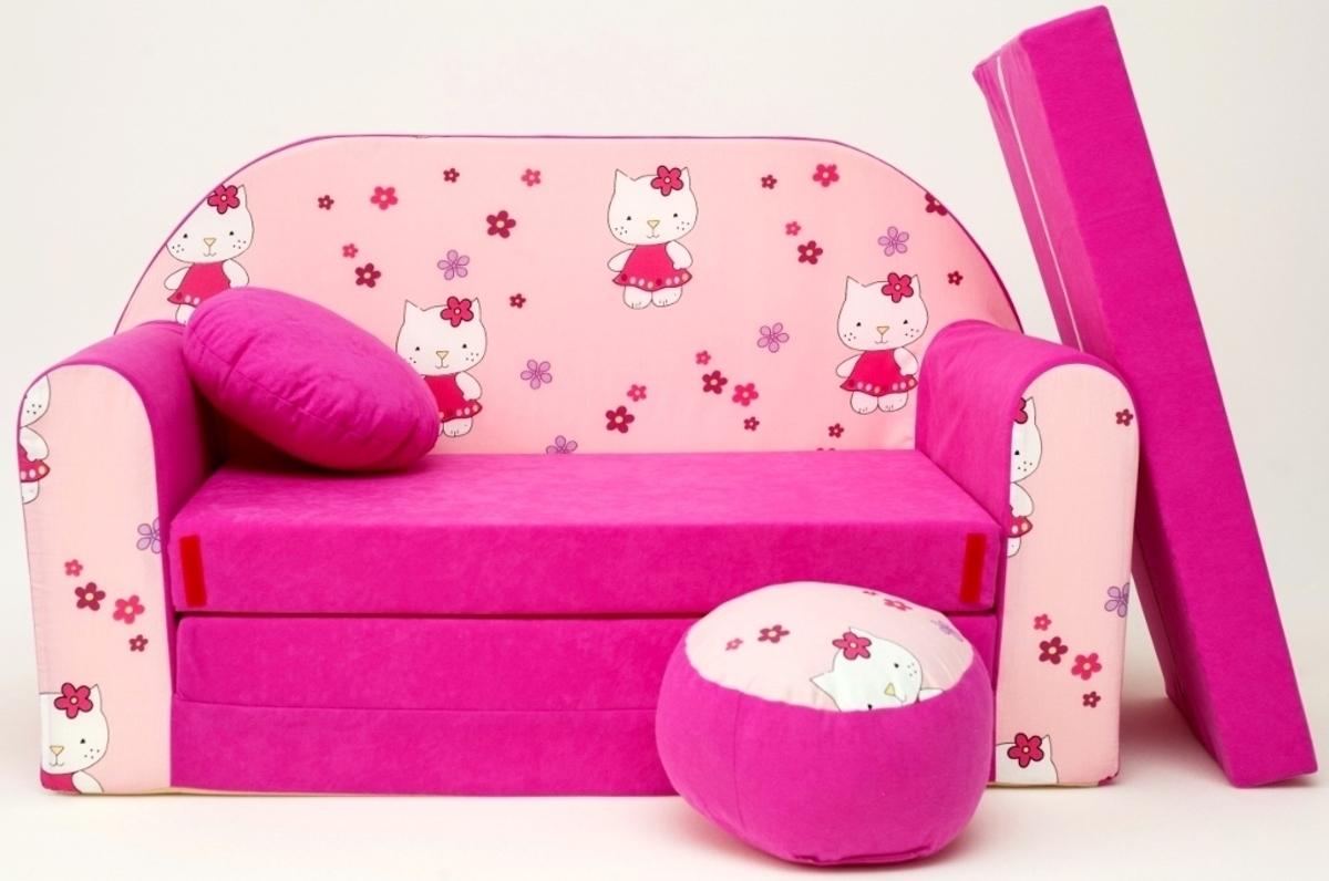 Detská pohovka ružová - Hello Kitty H 23+