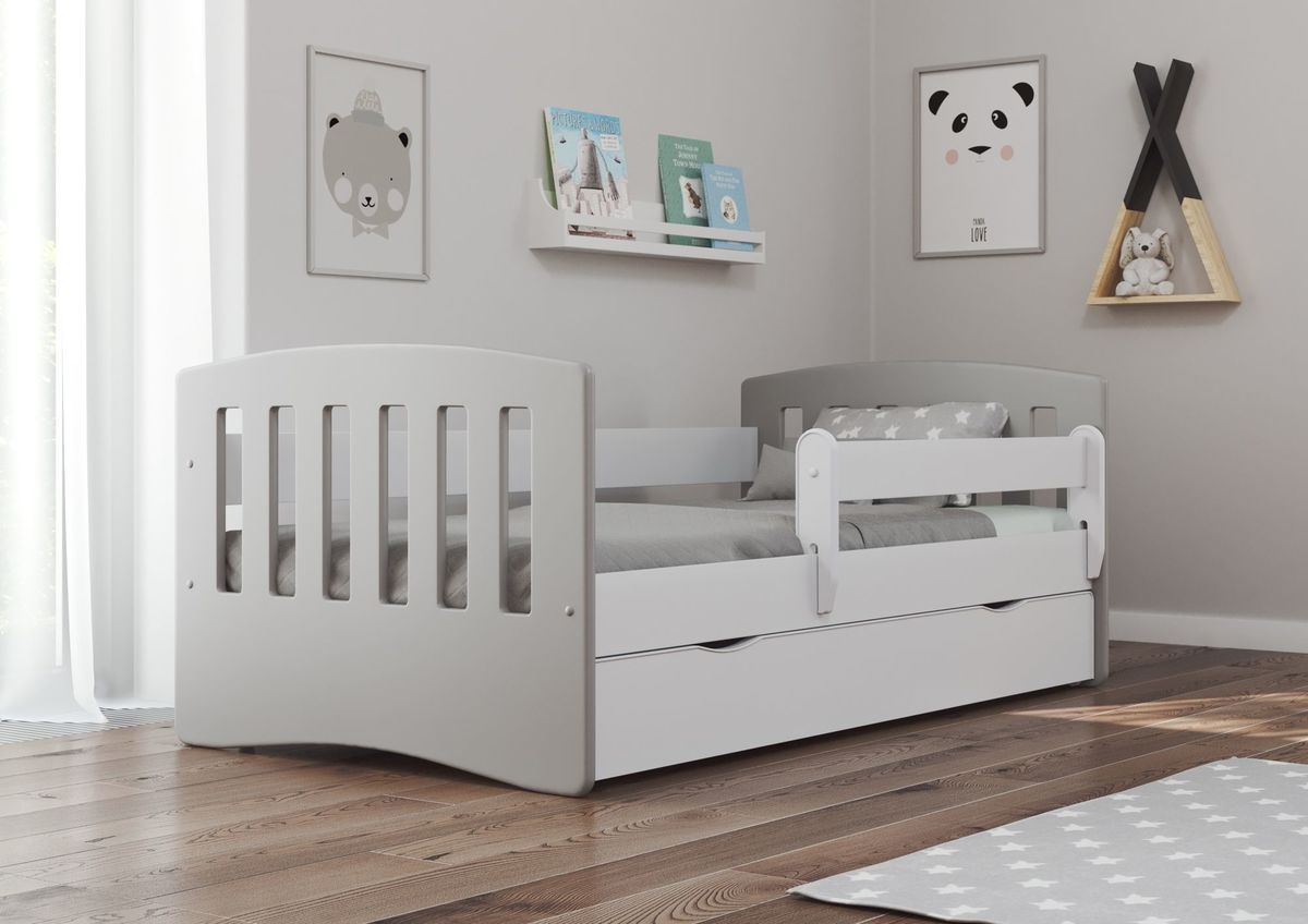 Detská posteľ Ourbaby Classic Greyhead 160x80 cm