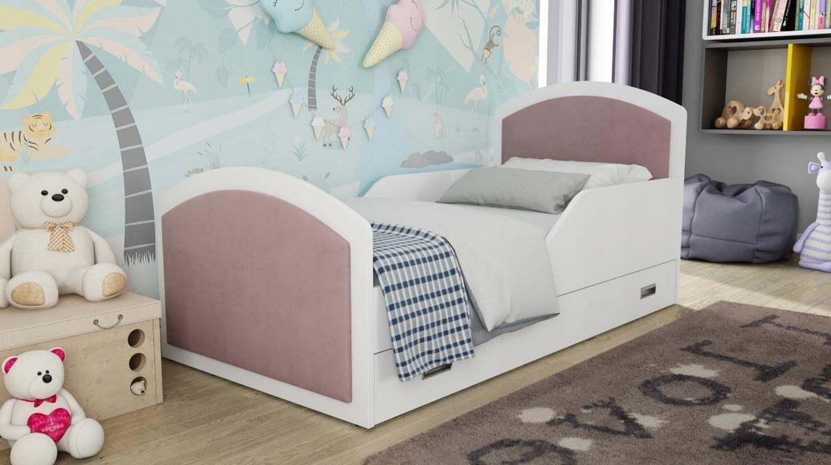 Detská posteľ Ourbaby Dusty Pink 160x80 cm