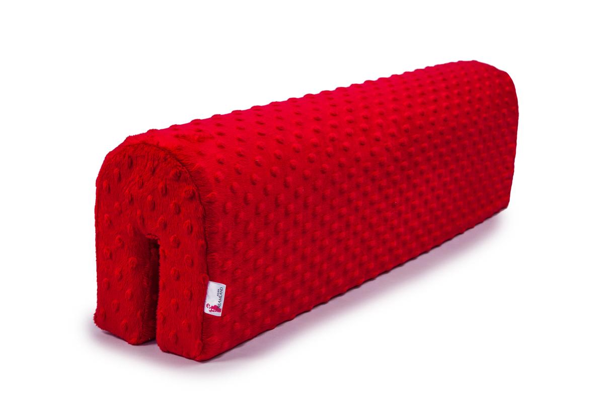 Chránič na posteľ Ourbaby - červený 70 cm