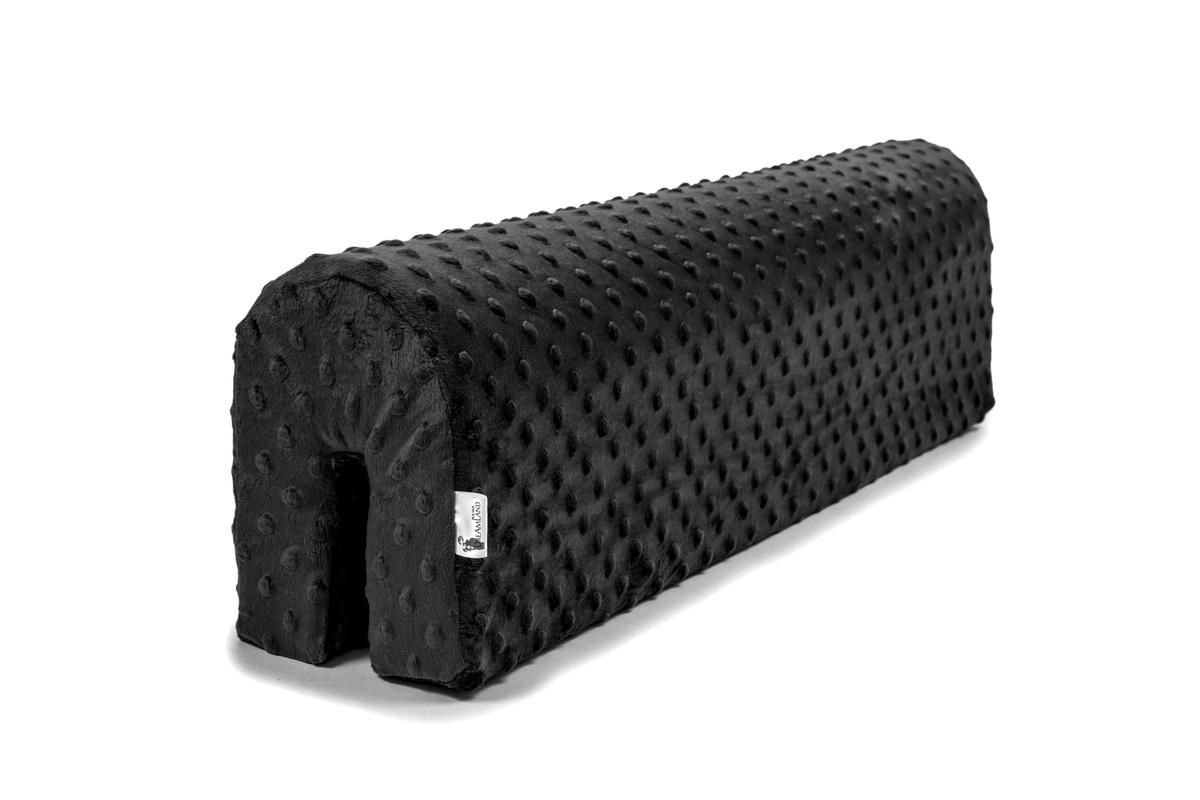 Chránič na posteľ Ourbaby - čierny 70 cm