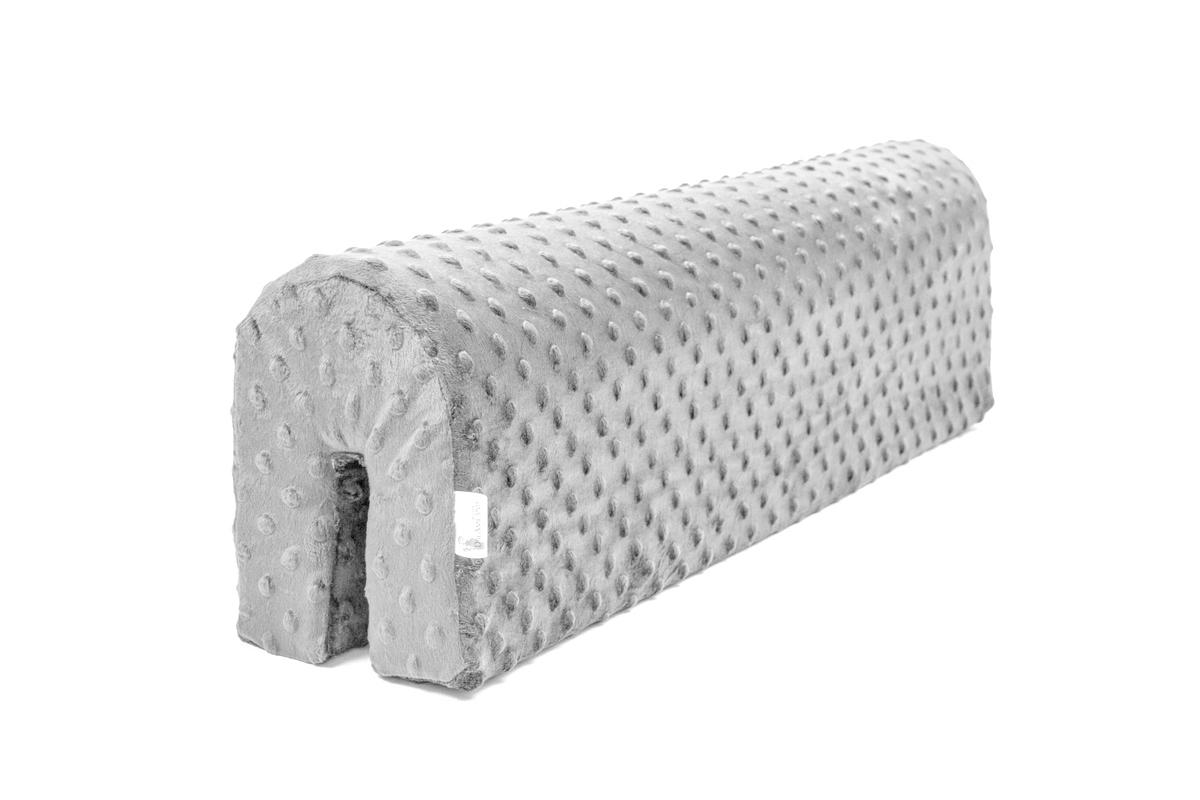 Chránič na posteľ Ourbaby - svetlo šedý 70 cm