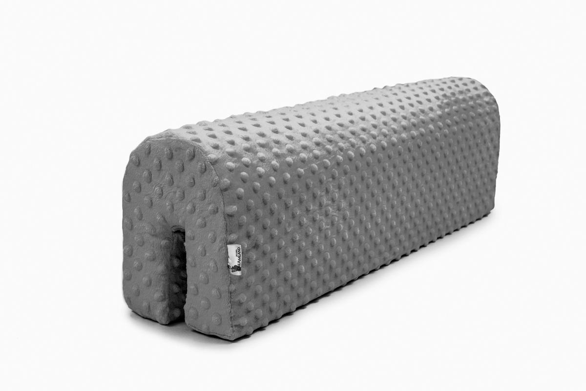 Chránič na posteľ Ourbaby - šedý 70 cm