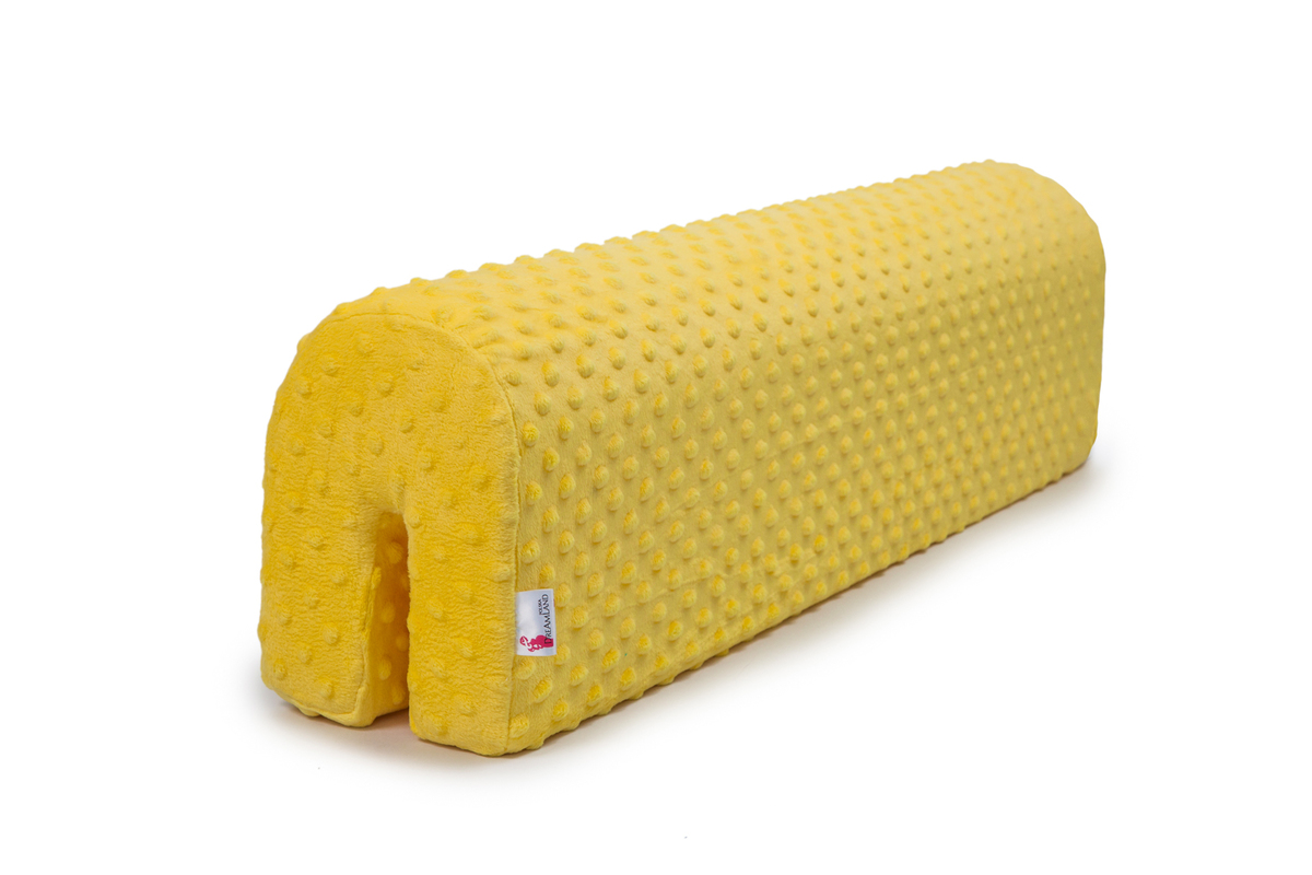 Chránič na posteľ Ourbaby - žltý 70 cm