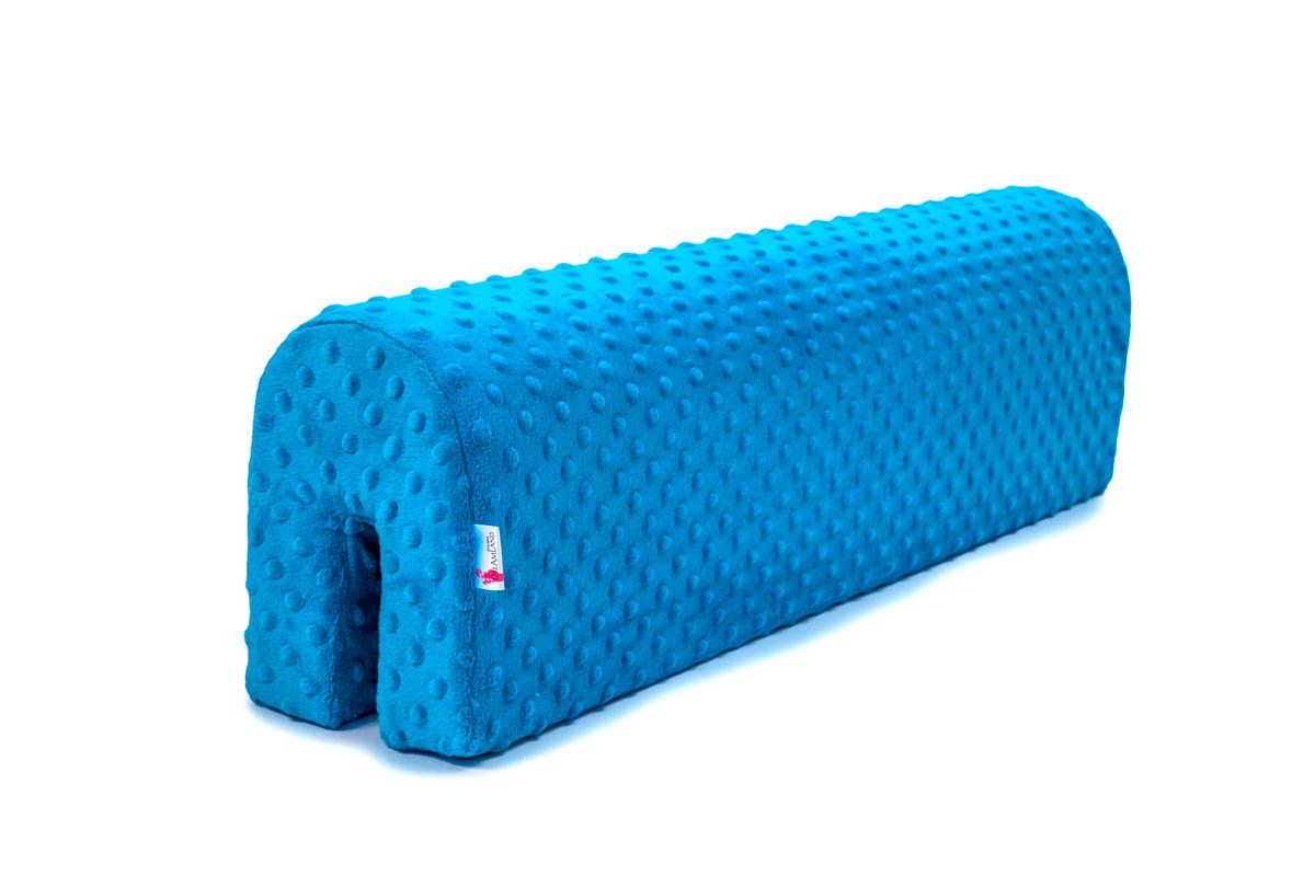 Chránič na posteľ Ourbaby - tyrkysový 70 cm