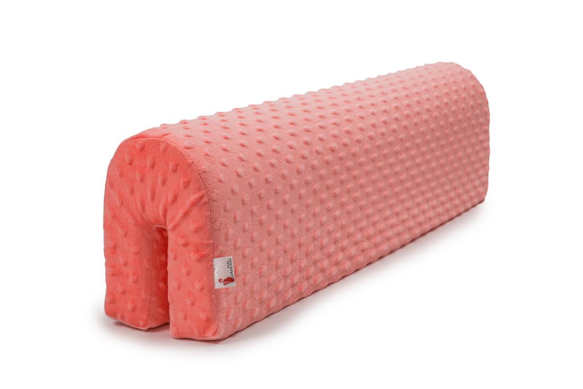 Chránič na posteľ Ourbaby - lososový 70 cm