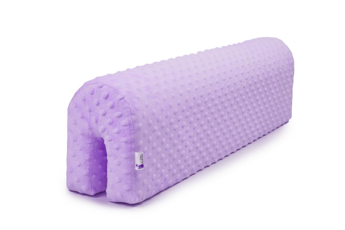Chránič na posteľ Ourbaby - fialový 70 cm
