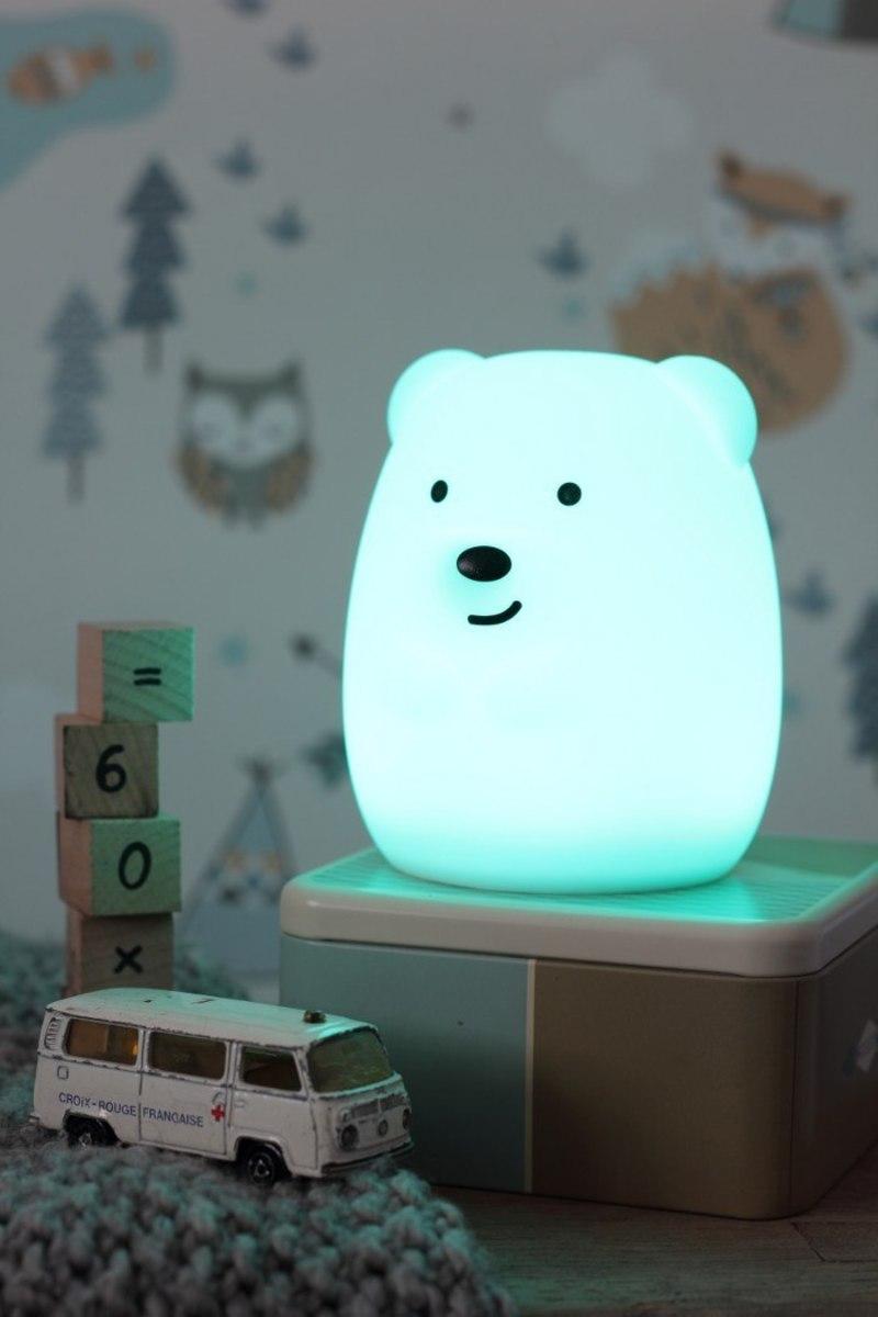Lampa LED PUFI - Medveď bear