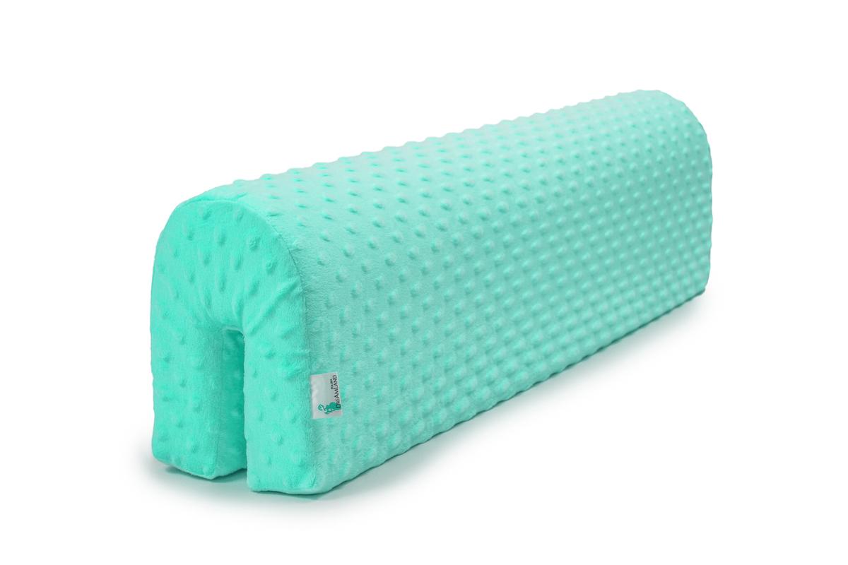 Chránič na posteľ Ourbaby - svetlo mätový 70 cm