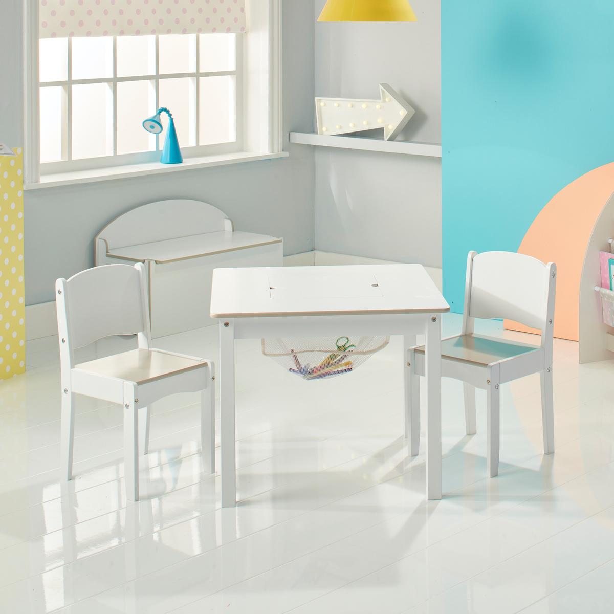 Detský stolček Crafty 2v1 + 2 stoličky table
