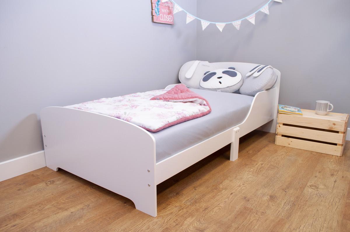 Ourbaby detská posteľ - biela 160 x 80 cm Sandy