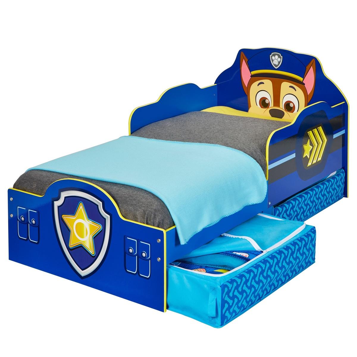 Detská posteľ Ourbaby Chase modrá 140x70 cm