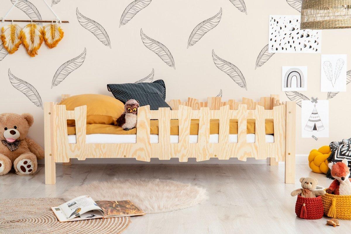 Detská posteľ Pikku B Fence Pikko 180x90 cm