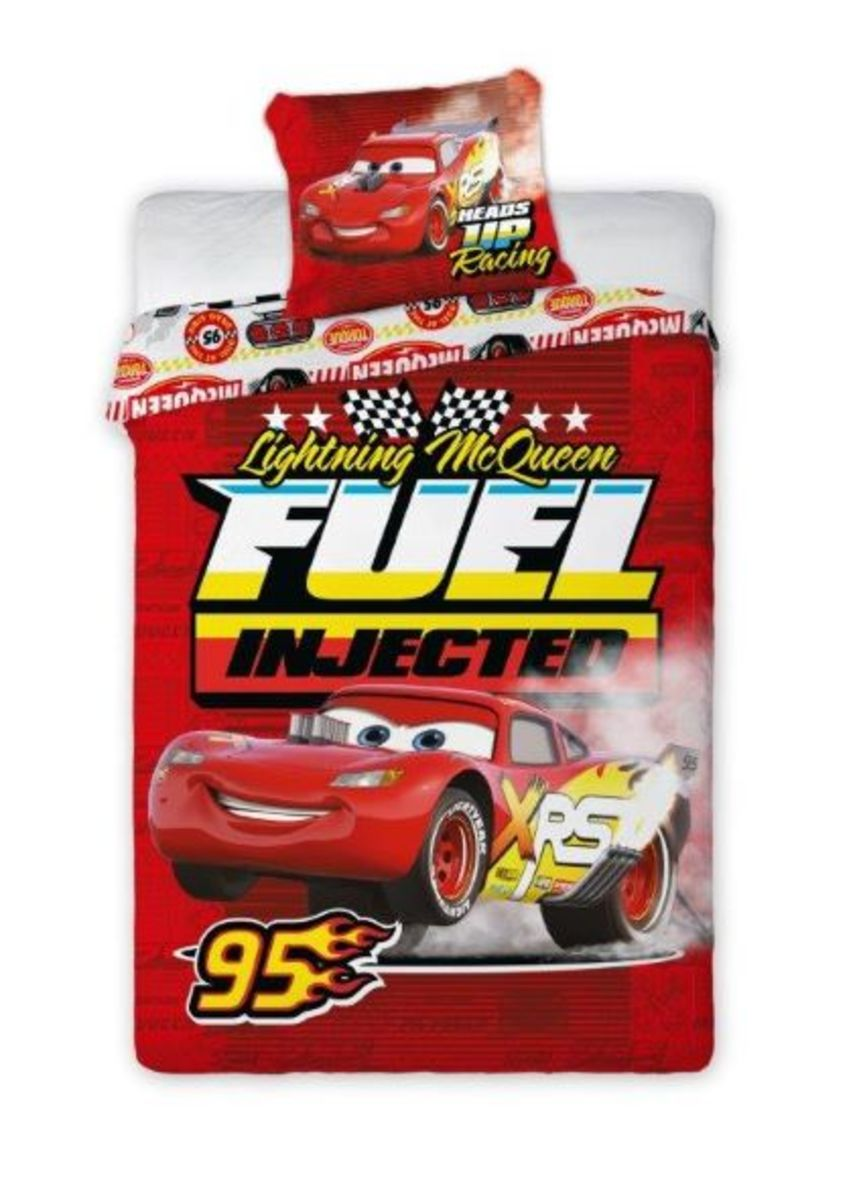 Detské obliečky Cars XRS - červené 140x200 cm + 70x90 cm