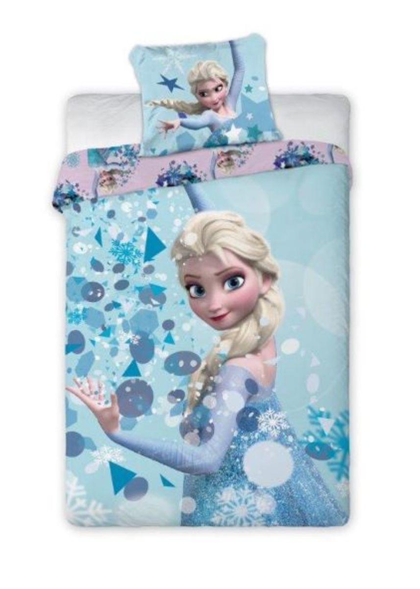 Detské obliečky Frozen - Elsa 140x200 cm + 70x90 cm