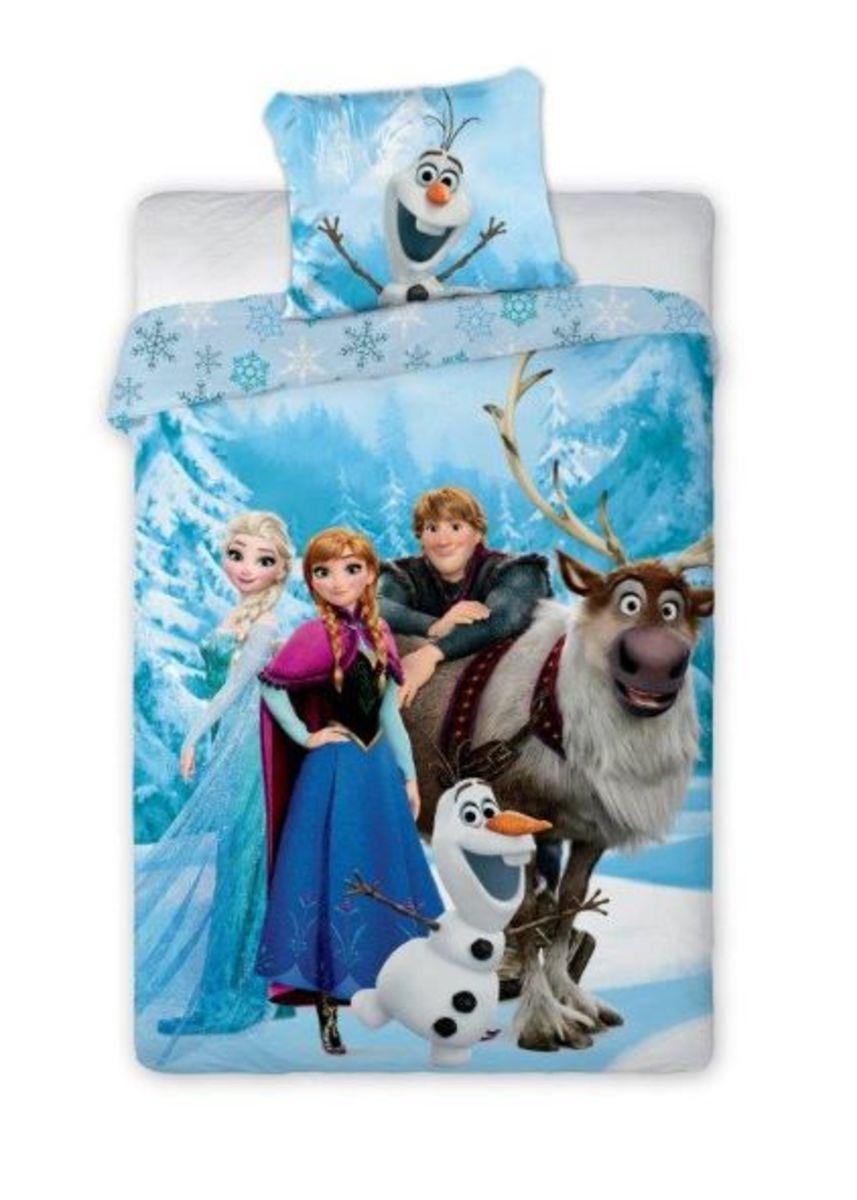 Detské obliečky Frozen hrdinovia 140x200 cm + 70x90 cm