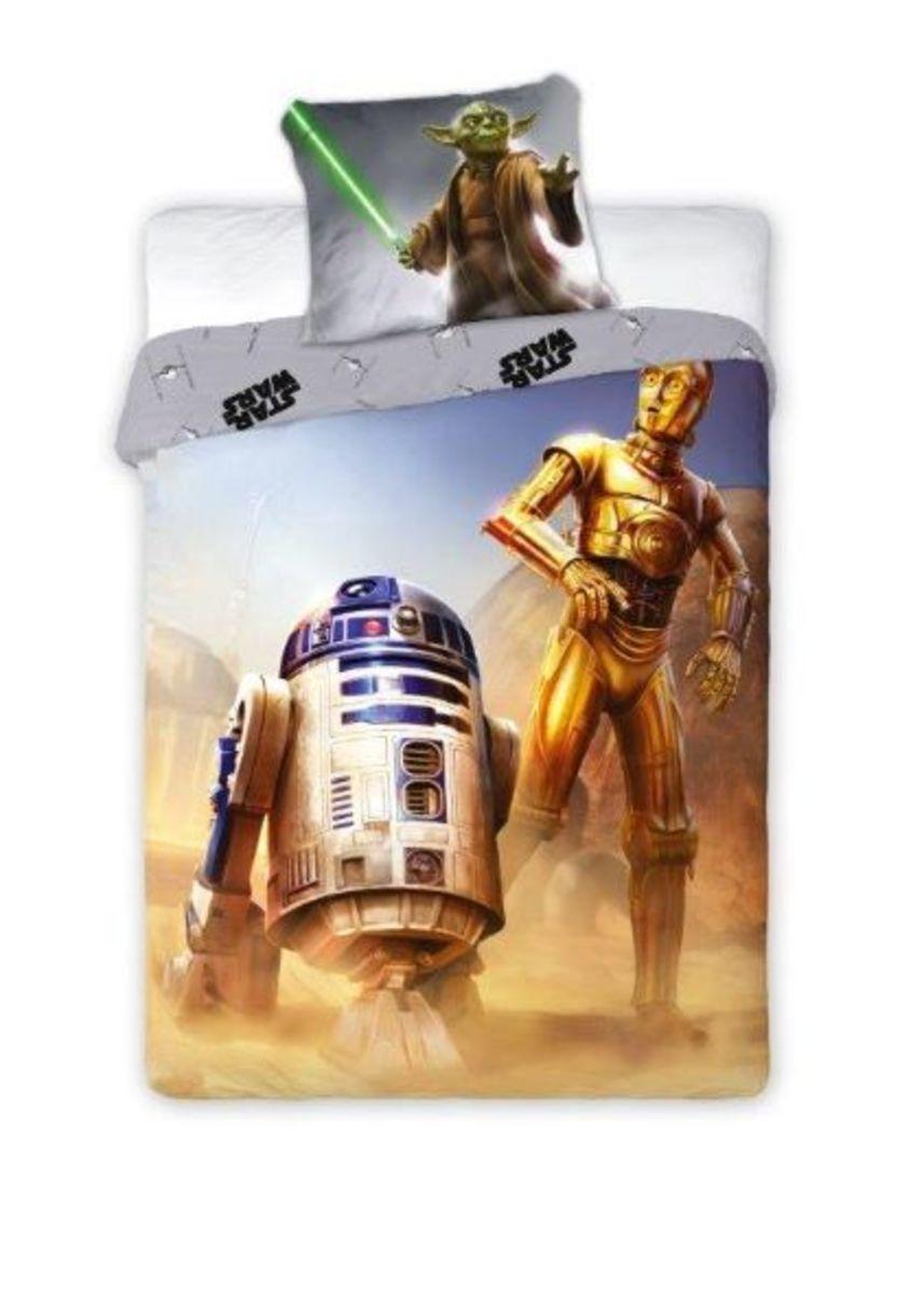 Detské obliečky Star Wars hrdinovia 140x200 cm + 70x90 cm