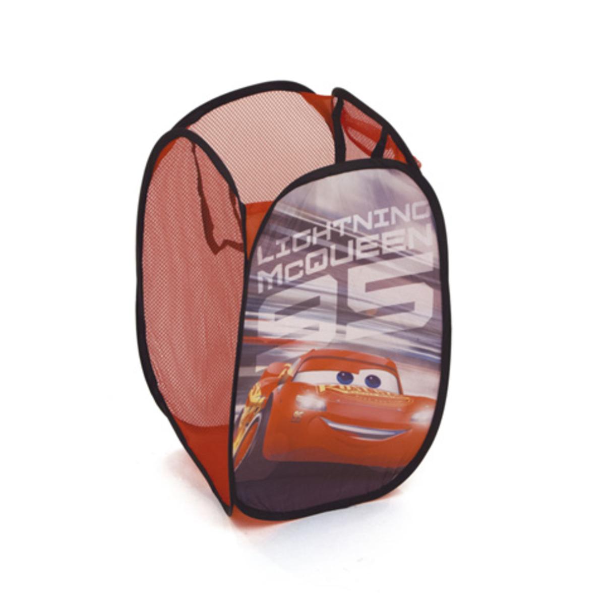 Detský skladacia kôš na hračky Cars