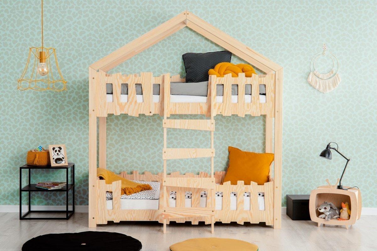 Domčeková poschodová posteľ Mila Zippo P Housbed 180x90 cm