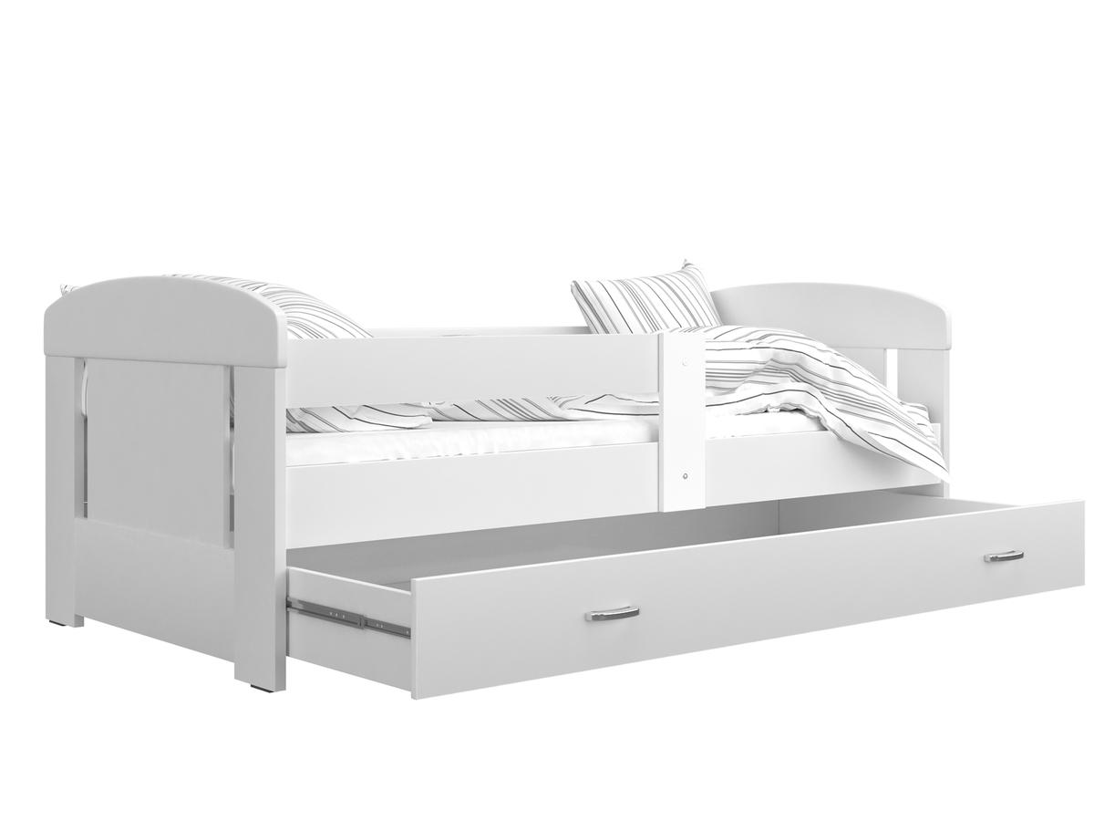 Detská posteľ Filip - biela 160x80 cm
