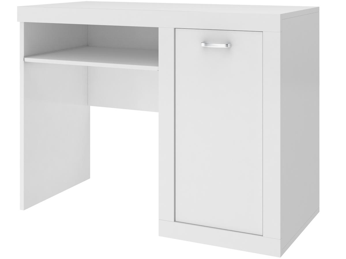Písací stôl Filip - biely