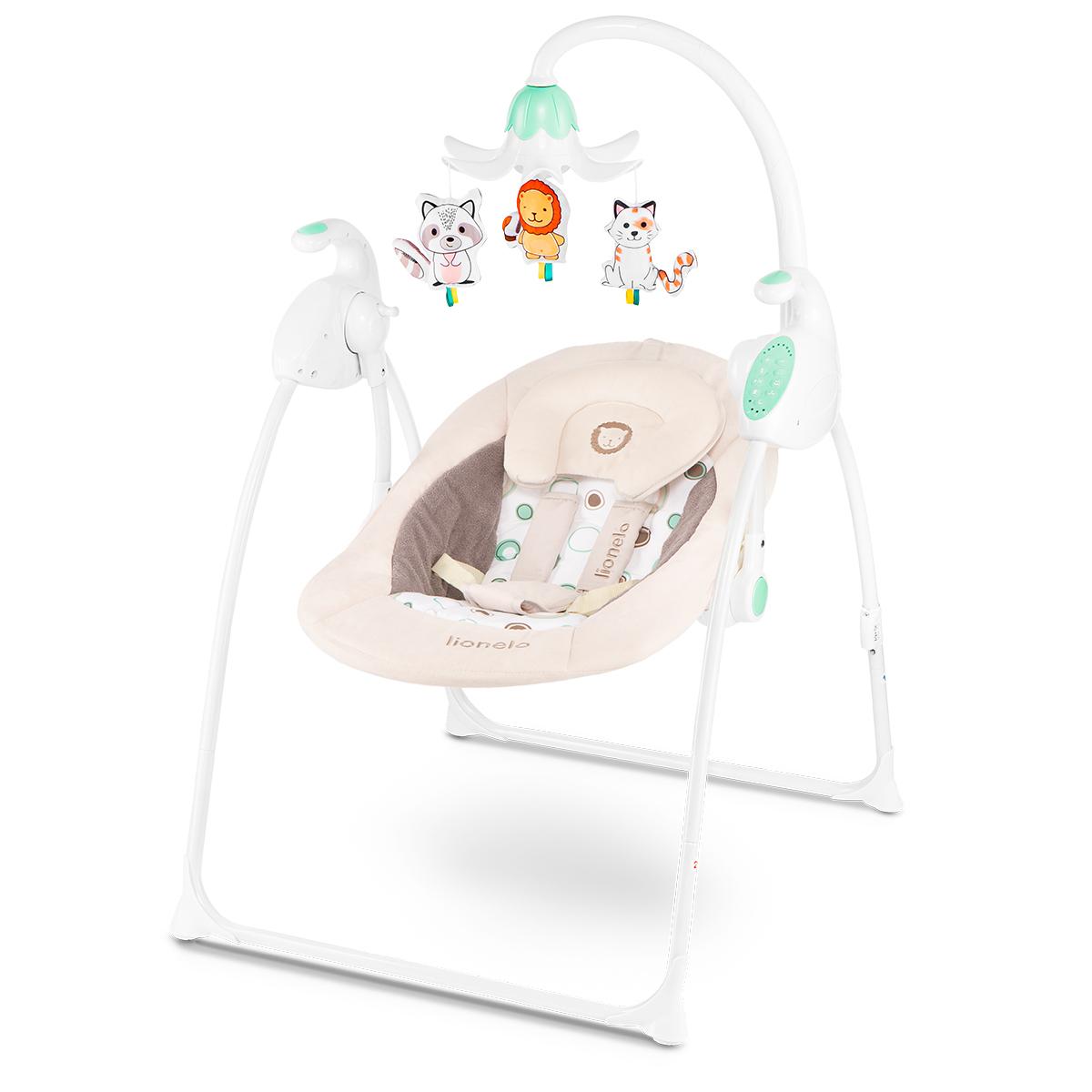 Detské houpátko Lionel Robin - béžové Bouncy Time