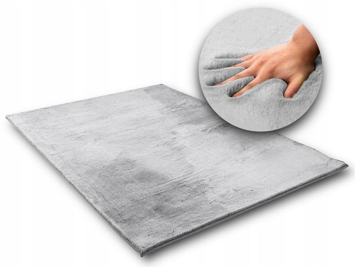 Hodvábny koberec Rabbit - svetlo šedý light gray 120 x 170 cm
