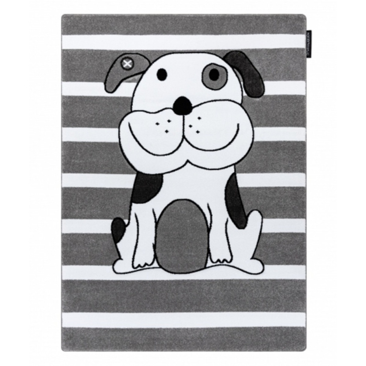 Detský koberec PETIT - Šteniatko - sivý Puppy rug - grey 120 x 170 cm