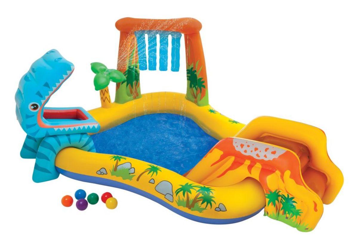 Detský nafukovací bazén Dino