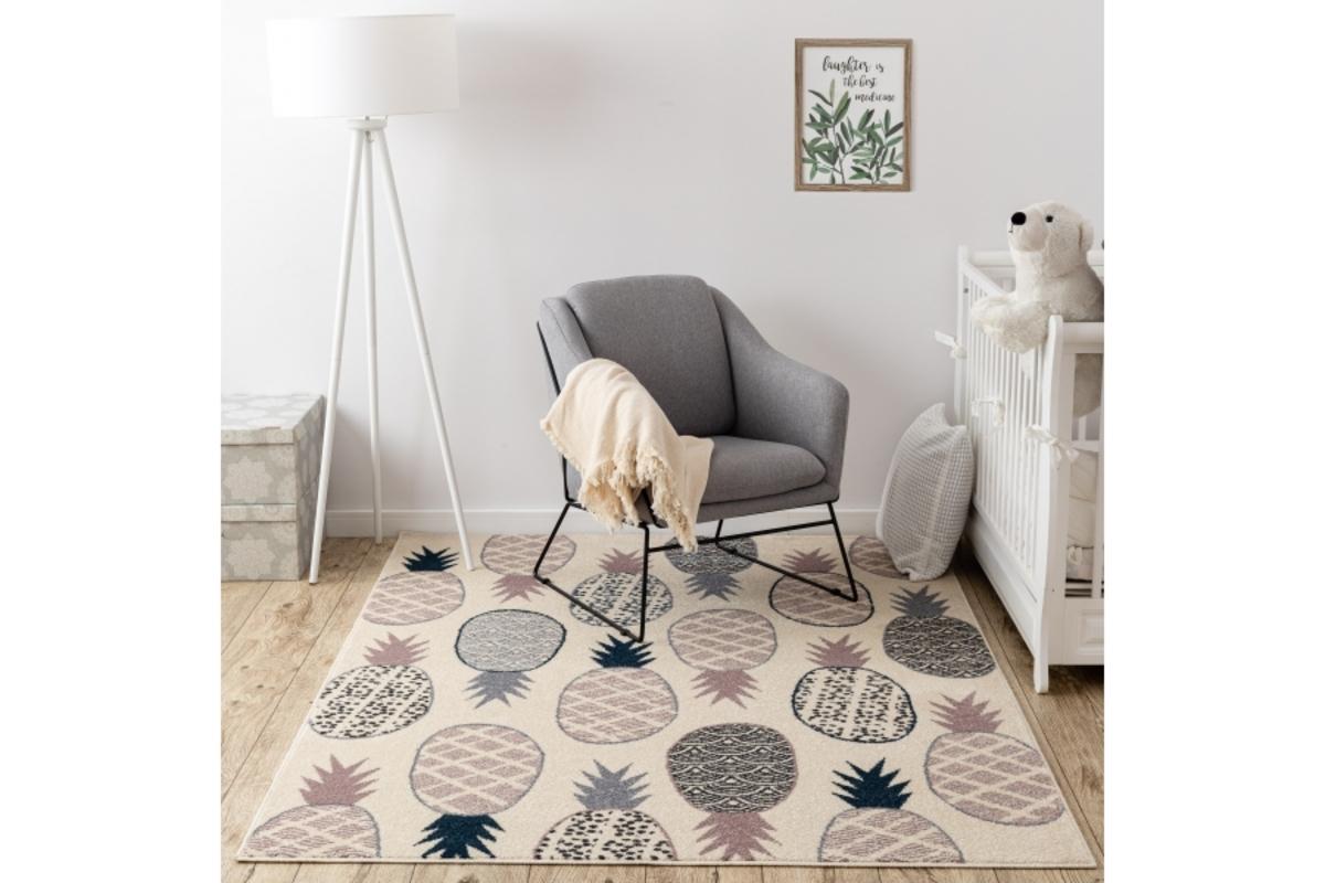Detský koberec Pineapple 160 x 220 cm