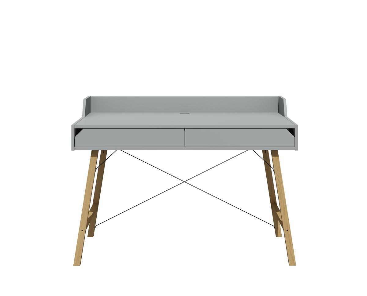 Písací stôl LOTTI GREY