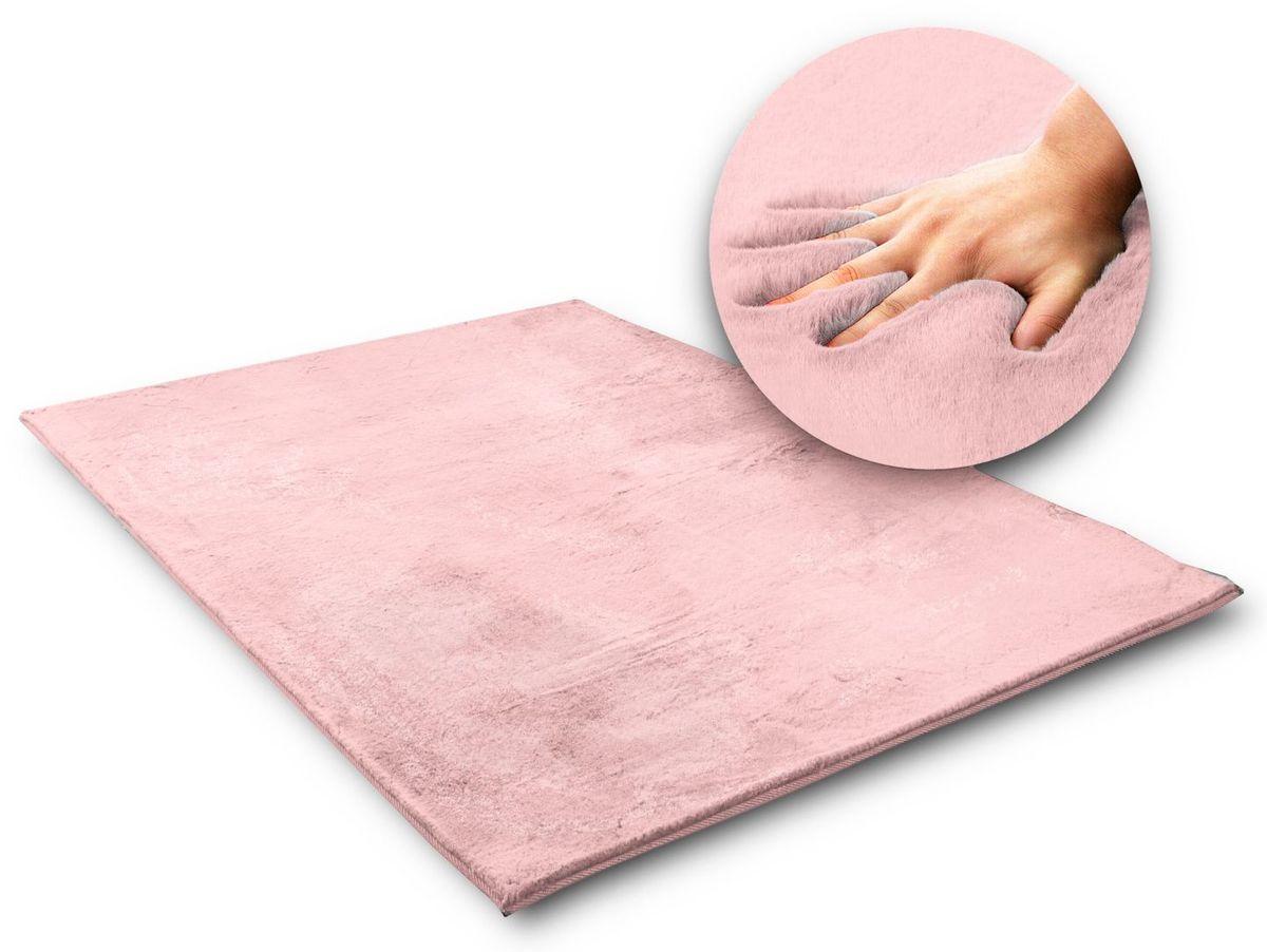 Hodvábny koberec Rabbit - ružový pink 120 x 170 cm