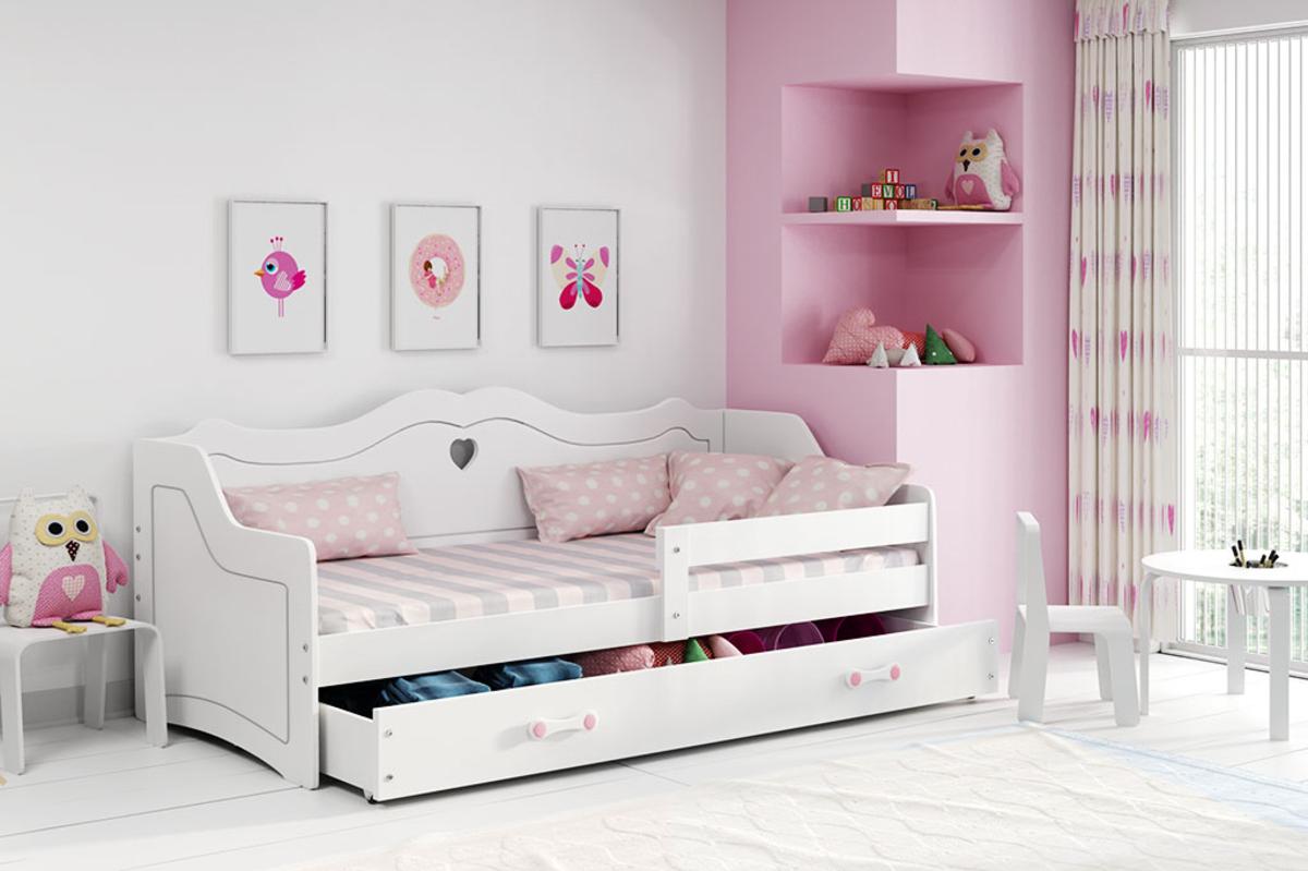 Detská posteľ Ourbaby Juliett biela 160x80 cm