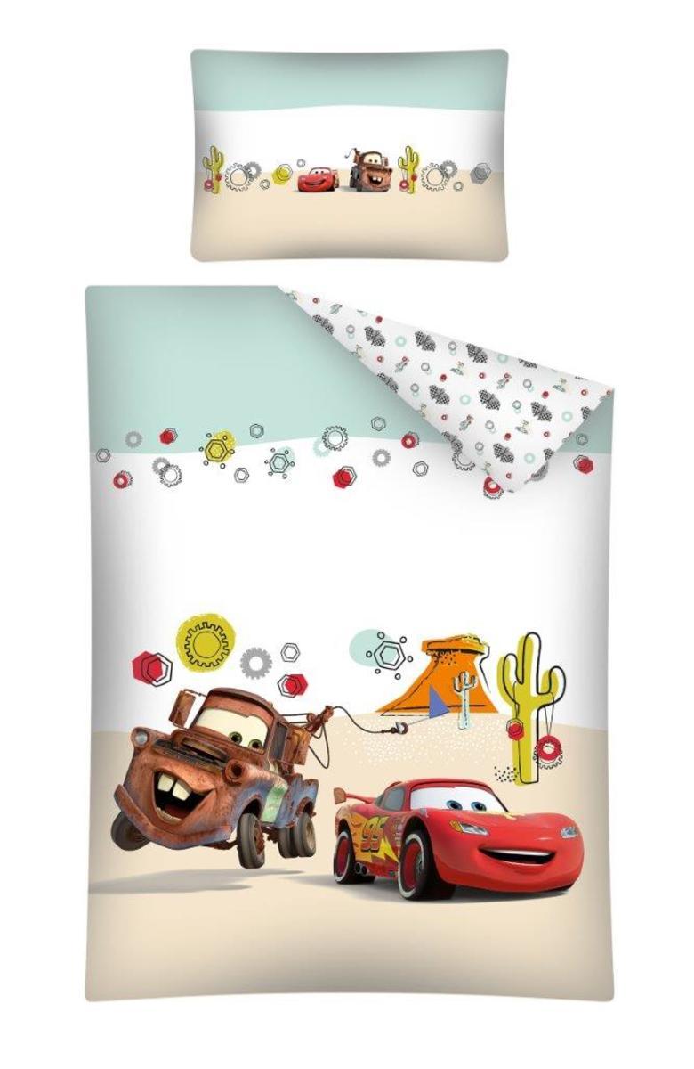 Detské obliečky Cars-Auta 135x100 + 60x40 cm