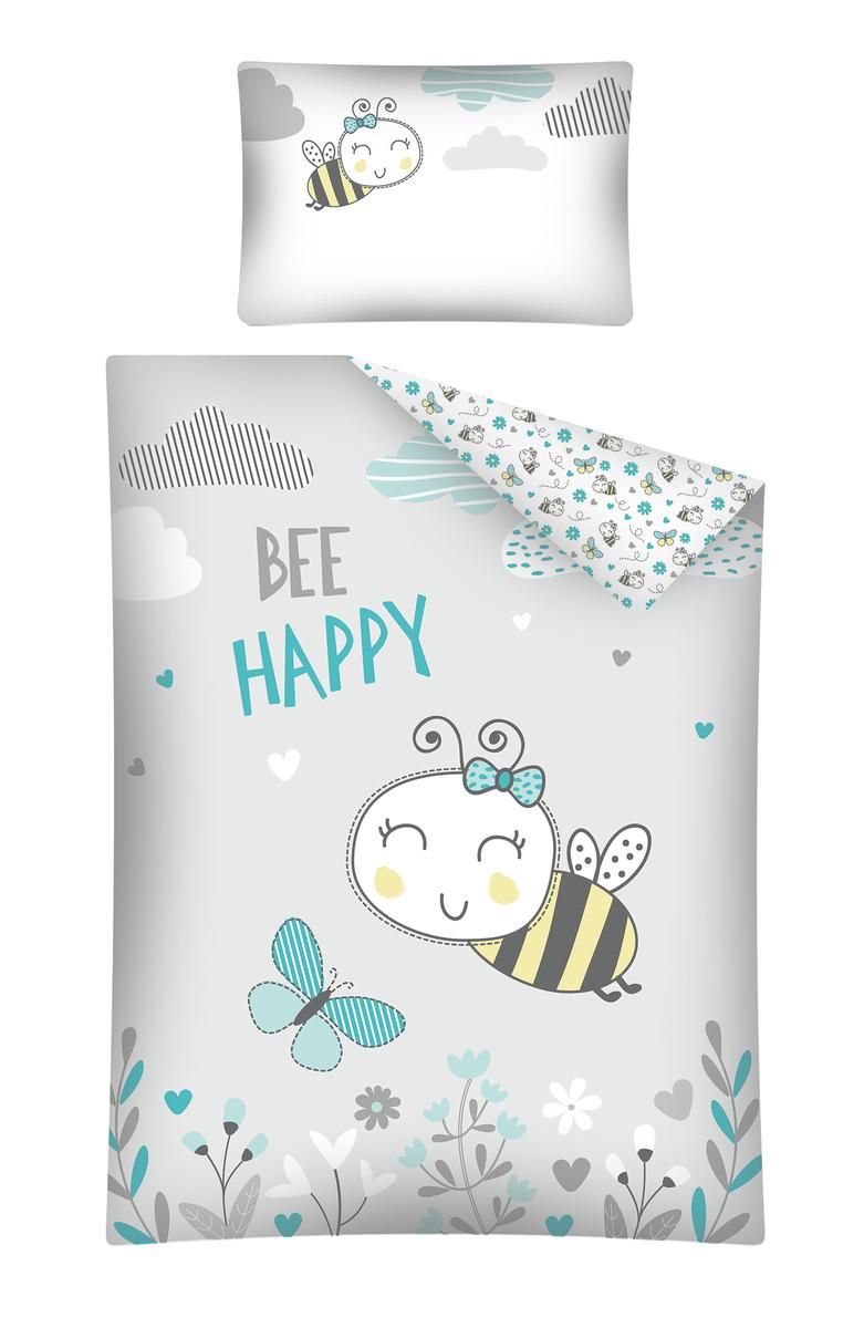 Detské obliečky Včielka 135x100 + 60x40 cm