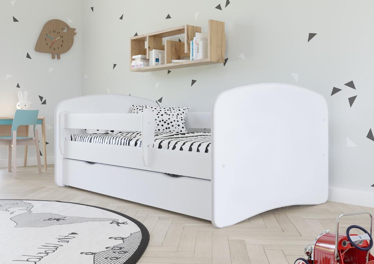 Detská posteľ Ourbaby Loki biela 160x70 cm