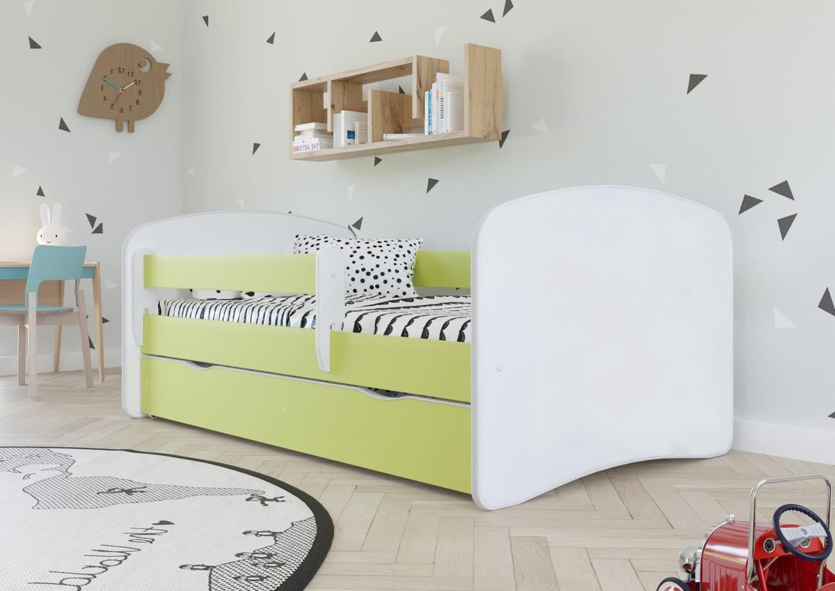Detská posteľ Ourbaby Loki zelená 160x70 cm