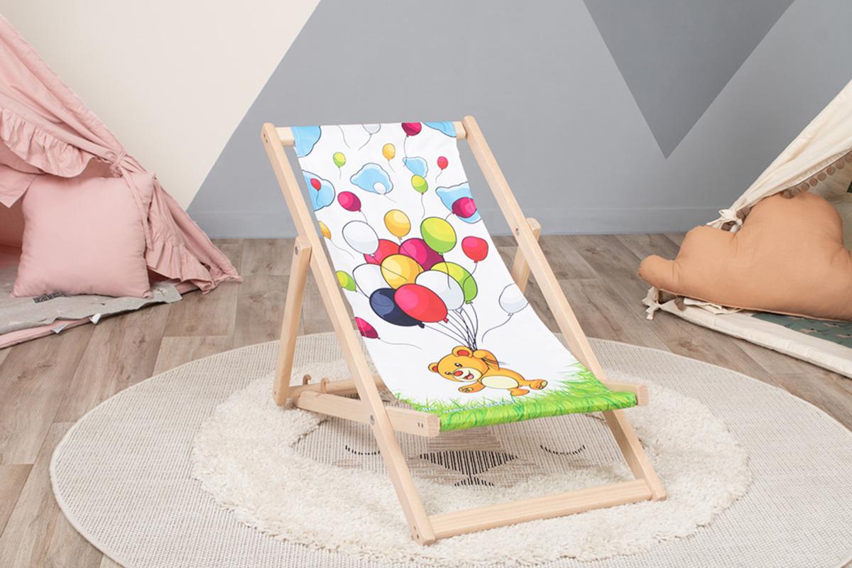 Detské plážové ležadlo Medveď Bear