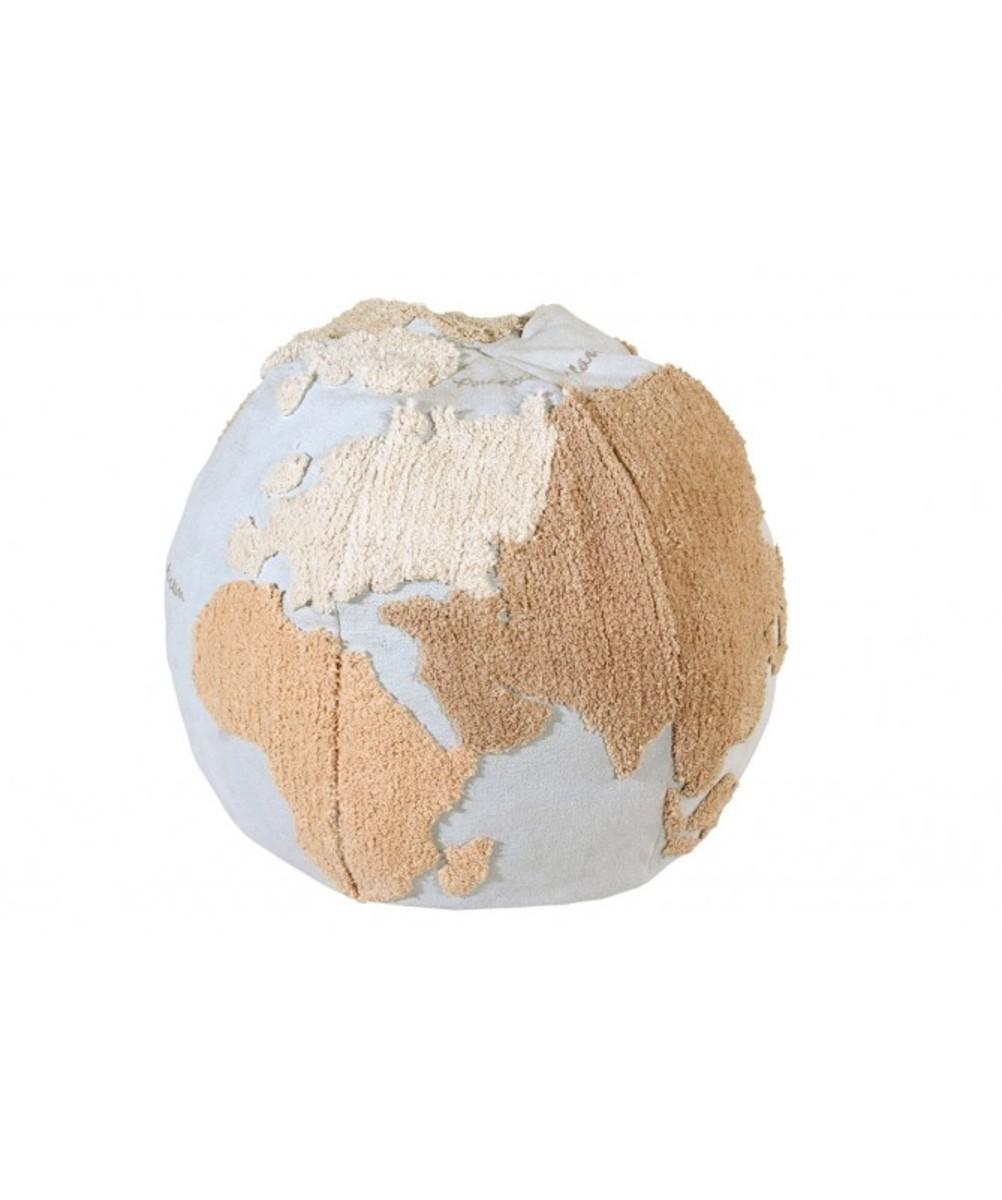 Sedacie puf Zemeguľa WMAP Pouffe