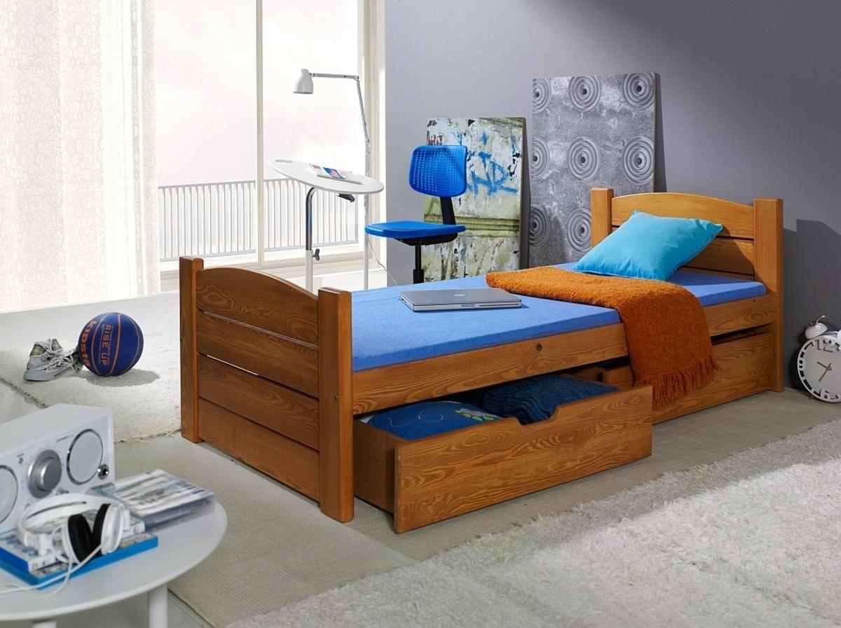 Detská posteľ Ourbaby Roma jelša 180x80 cm